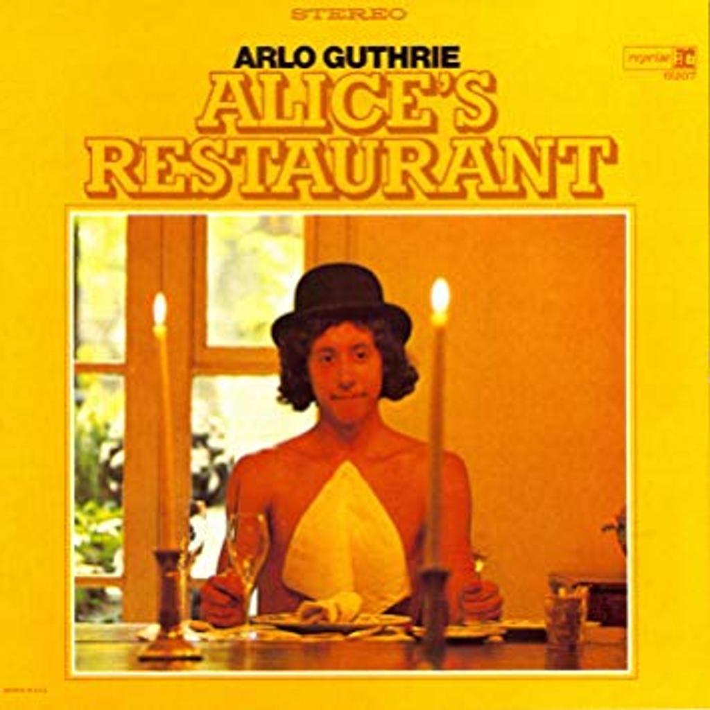 Alice's Restaurant / Arlo Guthrie, guit., chant | Guthrie, Arlo (1947-....). Interprète. Compositeur. Parolier