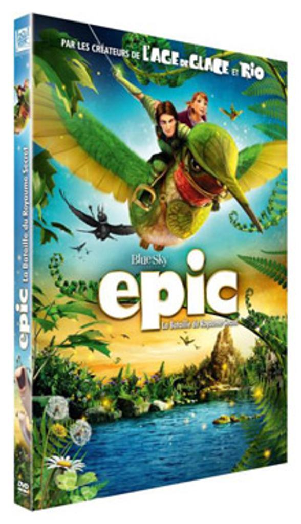 Epic : la bataille du Royaume secret / Chris Wedge, réal. | Wedge, Chris. Metteur en scène ou réalisateur