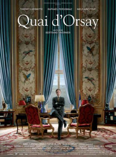 Quai d'Orsay / Bertrand Tavernier, réal., scénario, dial.  