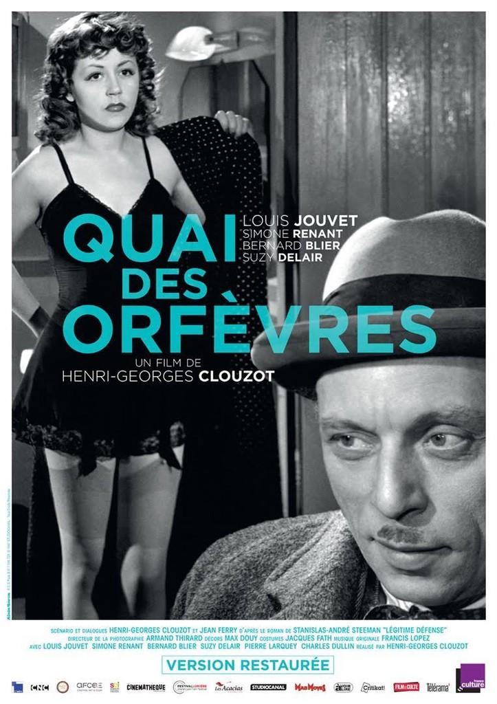 Quai des orfèvres / réalisé par Henri-Georges Clouzot   Clouzot, Henri-Georges (1907-1977). Réalisateur. Adaptateur. Dialoguiste