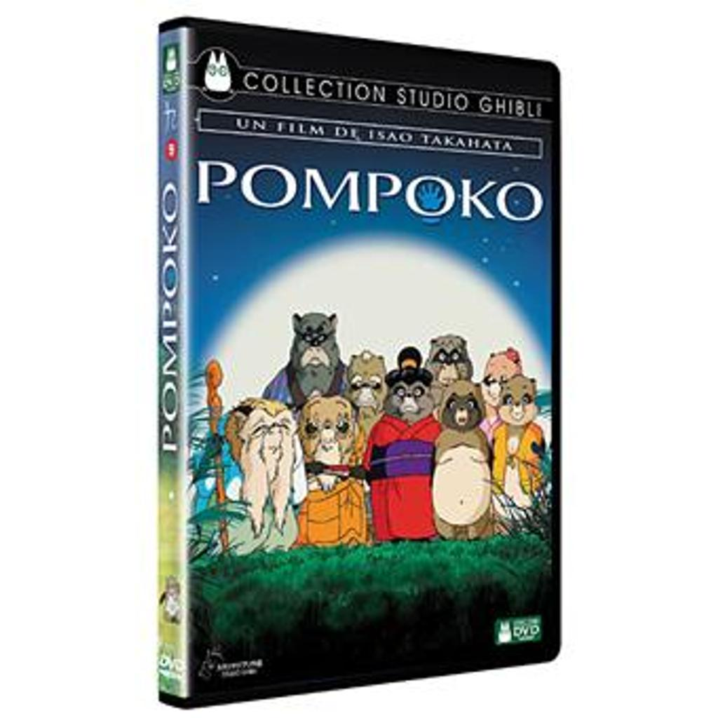 Pompoko / réalisé par Isao Takahata   Takahata, Isao (1935-2018). Réalisateur. Scénariste
